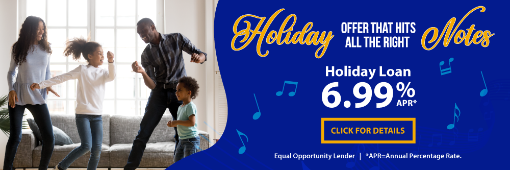 Apply for a TFCU Holiday Loan